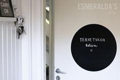 Liitutaulumaali | Esmeralda's