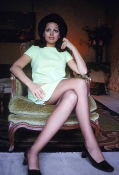 Princess, model and actress Ira Of Furstenberg photographed by Giancarlo Botti in Paris, France, March 1968