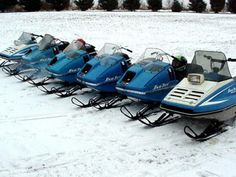 The Vinyage snowmobile shop