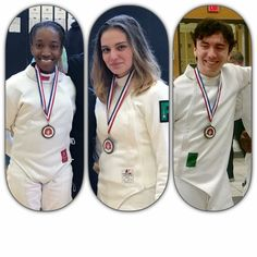 Congratulations to our DFC medalists at the October GHSFL tournament! Congratulations also to all our DFC fencers who earned top 16 points