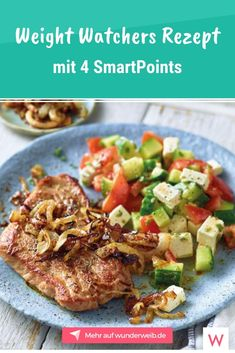 This Weight Watchers Recipe for Gyros Schnitzel with Peasant Salad has only 4 SmartPoints. The post New Weight Watchers recipes with 2 and 4 SmartPoints appeared first on Garden ideas. Clean Eating Diet, Clean Eating Recipes, Lunch Recipes, Meat Recipes, Chicken Recipes, Healthy Eating, Healthy Lunches, Healthy Diet Tips, Healthy Recipes