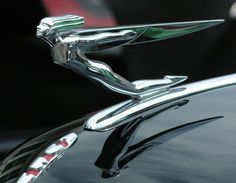 Art Deco Hood Ornament - 1932 Auburn Phaetom Sedan