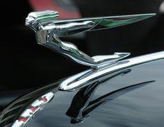 Art Deco Hood Ornament - 1932 Auburn Phaetom Sedan