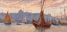 Tristram_James_Ellis_-_The_Golden_Horn_-_Google_Art_Project.jpg (5885×2857)