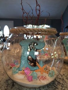 little mermaid centerpiece a