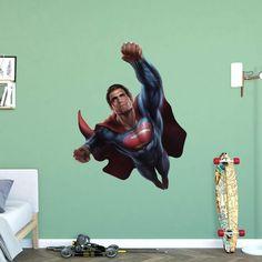 Fathead Batman vs. Superman - Superman Flight Wall Decal - 97-97124