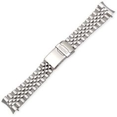 Seiko Jubilee-Style (22mm, Stainless Steel).