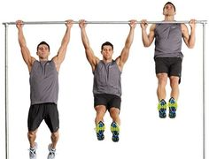 The pull-ups are one of the fundamental compound home workouts for the upper body that tones the muscles of the arms, shoulders, chest and upper back.