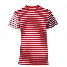 ADIDAS ORIGINALS BY BEDWIN T-SHIRT BORDER / RED
