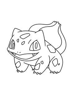 Pokemon Bulbasaur Coloring Pages