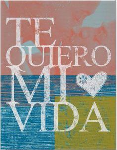 Te quiero mi vida :-)