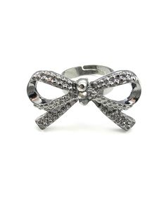 Bow Ring in Silver - $5.00 : FashionCupcake, Designer Clothing, Accessories, and Gifts