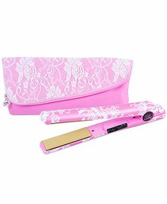 Another great find on Pink Lace Air Ceramic Flat Iron & Silk Infusion Serum by CHI Chi Hair Products, Beauty Products, Ceramic Flat Iron, Shiny Hair, Chi Chi, Wet And Dry, Pink Lace, Metallic Lace