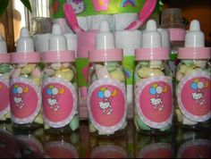 Baby Shower Favors, Baby Shower Games, Baby Showers, Hello Kitty Baby Shower, Charlotte Baby, Baby Girl Themes, So Creative, Welcome Baby, Baby Party