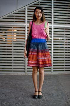 Hmong skirt!