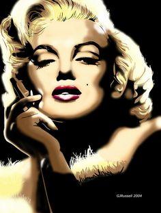 Marilyn Monroe 2 by gadget1998.deviantart.com on @DeviantArt
