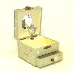 Studio Ghibli My Neighbor Totoro Music Box with a Drawer Totoro http://www.amazon.com/dp/B002RC8V00/ref=cm_sw_r_pi_dp_.yB0tb0C1SS34F3P
