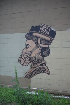 Wheat Paste Graffiti