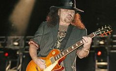 Gary Rossington and his Les Paul