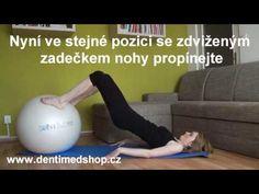 Posilování pánevního dna proti inkontinenci a pro zvýšení sexuálních prožitků - YouTube