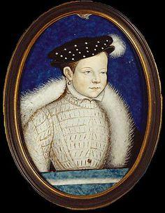 Francois II Valois d'Angoulême, nom de naissance: François de France, né le 19 janvier 1544 à Fontainebleau, mort le 5 déc 1560 à 16 ans à Orléans. Père: Henri II de France, mère:Catherine de Mdicis. Conjoint: Marie 1° d'Ecosse. Héritier: Charles de France (1559-1560). Résidence: Blois Uk History, French History, Francis Walsingham, François Ii, 30 Mai, French Royalty, Sir Francis, Mary Stuart, Fontainebleau