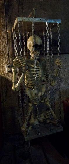 Halloween decor dungeon