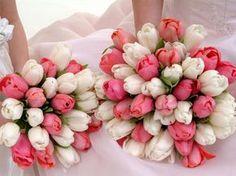 Esos ramos de tulipanes estan preciosos!!!!