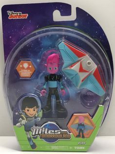 The Angry Spider has the best toys: TAS038201 - Tomy ...  Take a look: http://theangryspider.com/products/tas038201-tomy-miles-from-tomorrowland-pipp-figure?utm_campaign=social_autopilot&utm_source=pin&utm_medium=pin