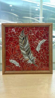Cam mozaik ile tüy hafifliği by Hilal Taşcı Üğütgen