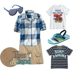 The Perfect #beach outfit for your Toddler Boy