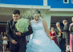 Enfim, o dia tão esperado chegou, tudo foi perfeitamente como sonhado... Parabéns e felicidades aos noivos Flávia e Claudemir!