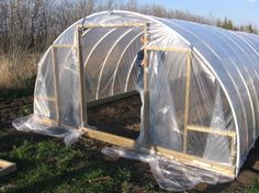 These plans to build a cheap greenhouse get recirculated every year.  Keep in mind that you should understand how these work before building this.  Not every climate even needs a greenhouse.