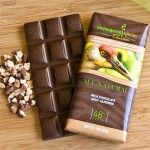 """Endangered Species Chocolate - All-Natural Milk Chocolate with Almonds - """"We donate 10% of net profits to charitable organizations supporting  species and habitat conservation efforts in harmony with humanity"""""""