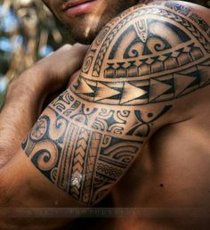 Eric's tattoo #maori #tattoo #tattoos