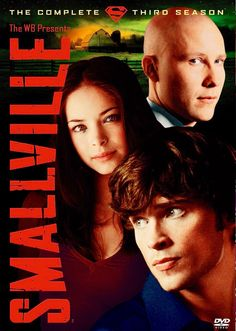 Smallville: Complete Third Season DVD Tom Welling, Michael Rosenbaum, Allison M Clark Kent, Superman, Dramas, Dc Comics, Michael Rosenbaum, Allison Mack, Lana Lang, John Schneider, Audio Latino