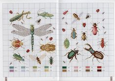 free cross stitch designs insects - Google-søk