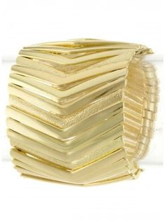 Gold Chevron Tribal Bracelet #LadyLuxSwimwear #LadyLux #designerswimwear #bikinis