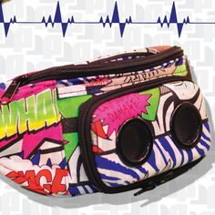 My new jammy pack for donating to bring the decentralized dance party to DC :D Geek Chic, Lacrosse, Fanny Pack, Lunch Box, Geek Stuff, Packing, Retro, My Style, Bags