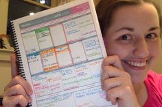 This is my nursing school planner, and in my opinion, it is the best planner out there for a nursing student.