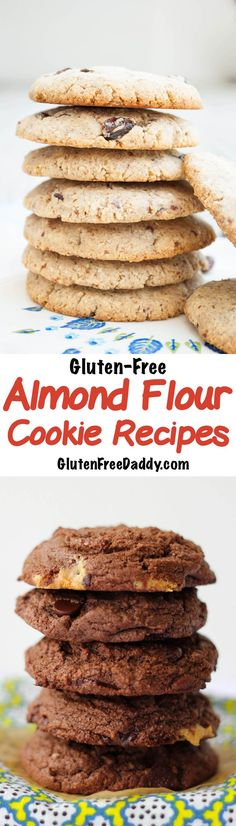 I love this selection of gluten-free almond flour cookies recipes because there is a wide variety and an image for each recipe.