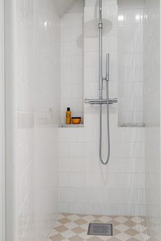 Prysznic we wnęce