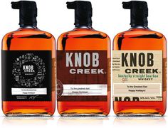 Knob Creek Whiskey h