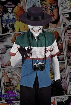 Just a bad day, for you!!! #jokercosplay #jokernyc #costumedesign #costume #characterization #joker #cosplay #cosplayer #comics #killingjoke #makeup #batman #dccomics #guason #fanzago