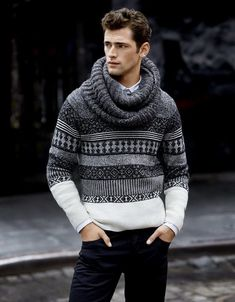 amazing sweater, don't know if I could make it work for me though