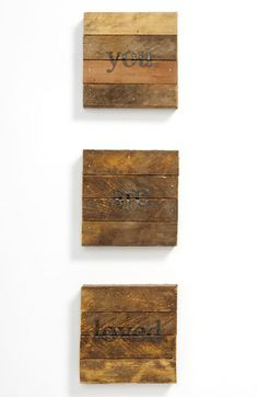 Repurposed Wood Wall Art available at #Nordstrom