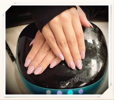 Tippy Toes Nails and Spa - San Diego, CA, United States. Oval Acrylic Nails with Perfect Match #72 Gel Polish by Andy Hai Dinh