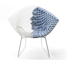 Clément Brazille's tribute to the Bertoia Chair <3