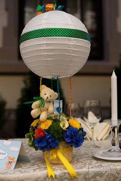 Baptism party - baloon theme