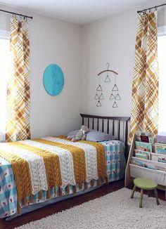 Ruby and Sebastian's Room via Smile and Wave #nursery #hometour #vintage