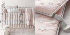 Little Star Appliqué Nursery Bedding Collection | RH baby&child